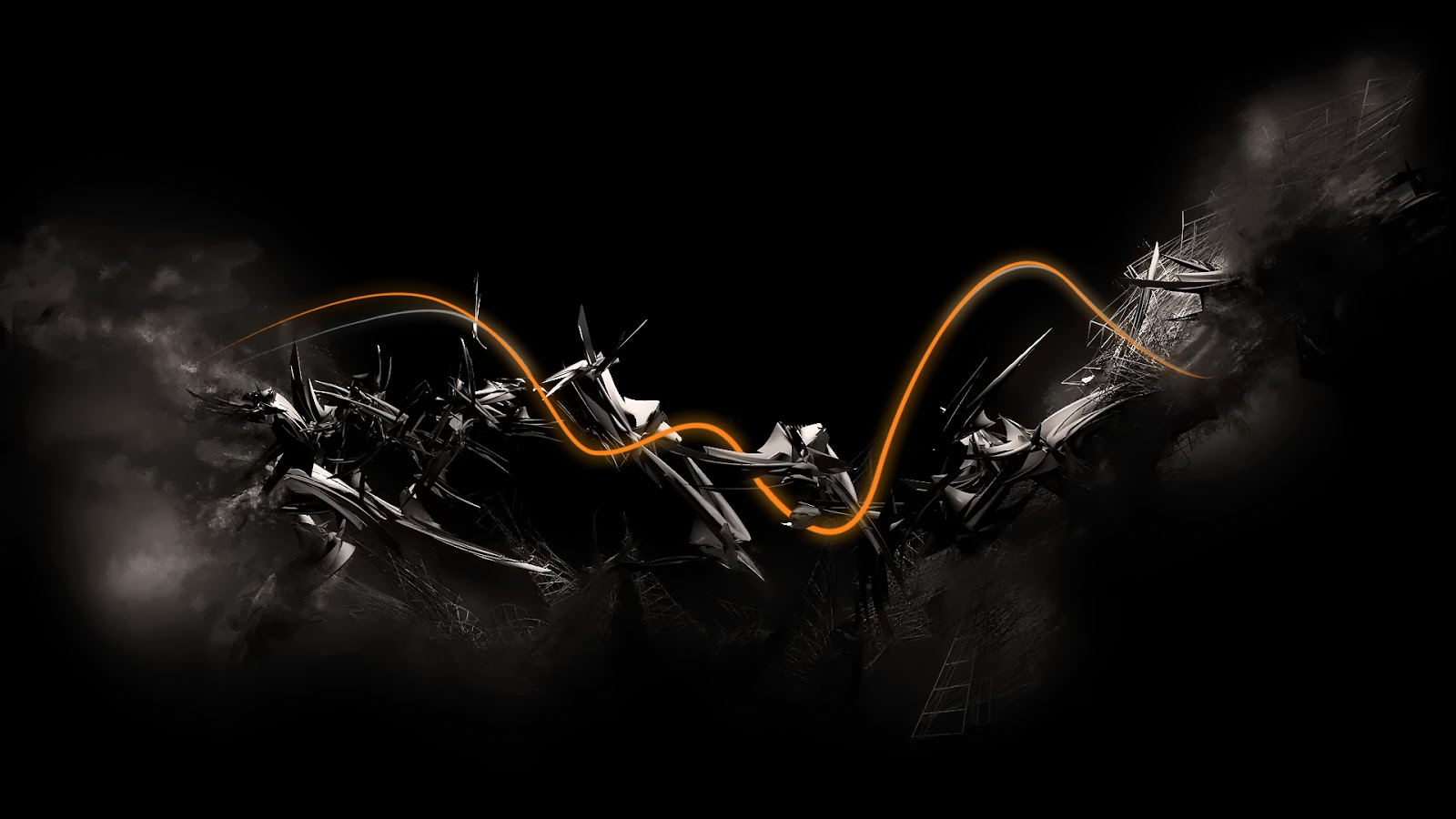 29 awesome black themed abstract wallpapers 1dut.com 12
