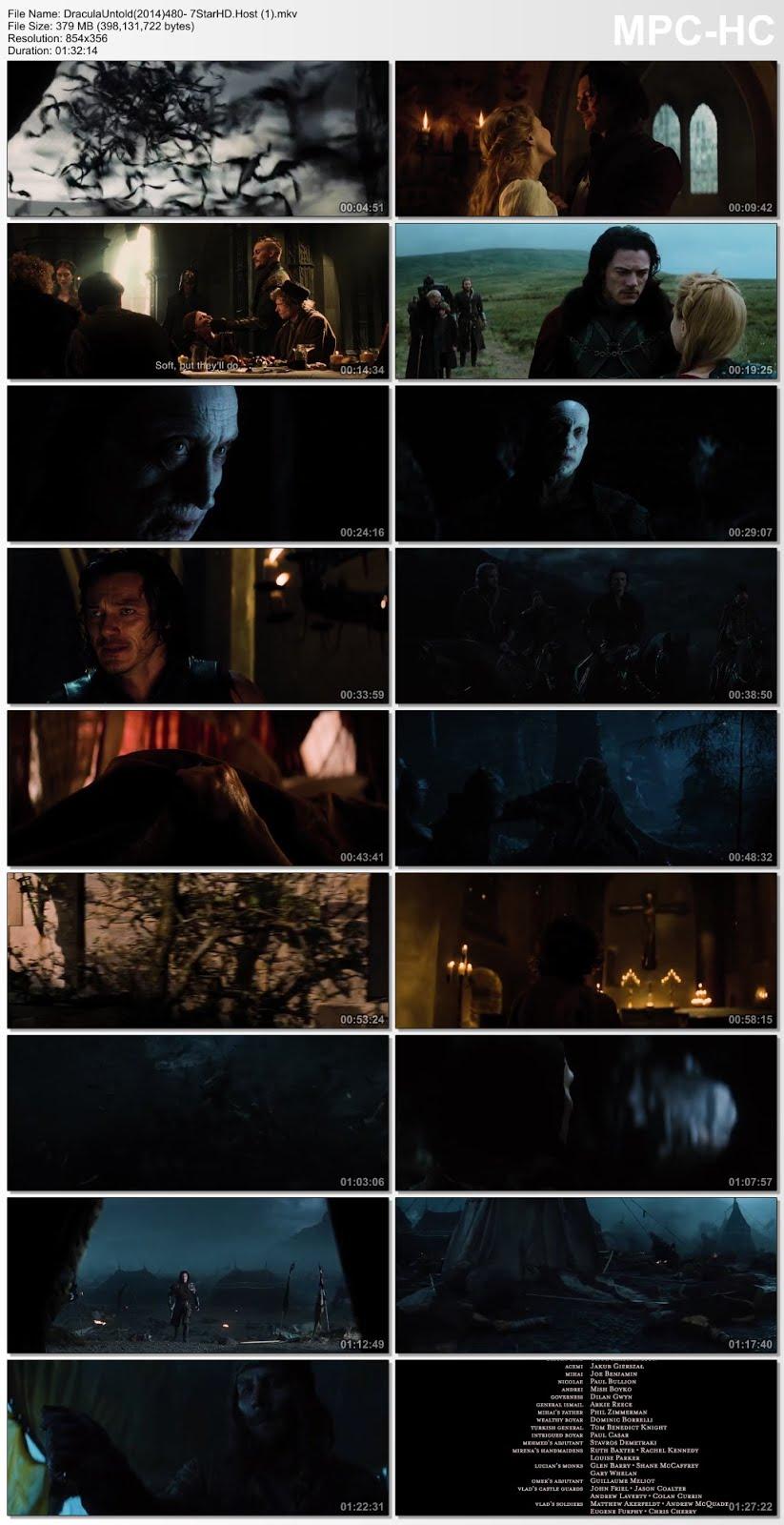 Dracula Untold (2014) Dual Audio Hindi Dubbed Full Movie 350MB BluRay 480p x264 Download