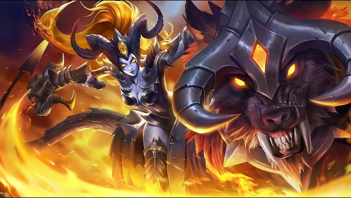 Wallpaper Irithel Hellfire Skin Mobile Legends HD for PC