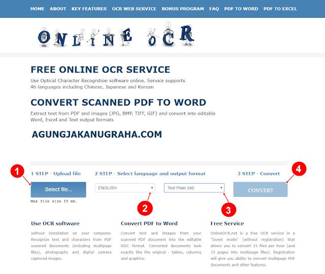 Cara Menyalin Tulisan di PDF Yang Berasal Dari Gambar