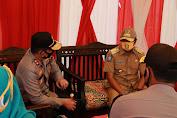 Kapolda Tanyakan Perkembangan Tentang Covid-19, saat Kunjungan di Polres Wajo