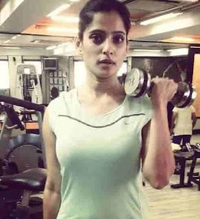 Priya Bapat In Gym