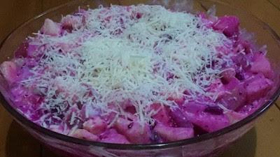 Salad Buah Naga