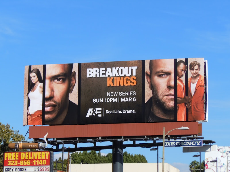 Breakout Kings TV billboard