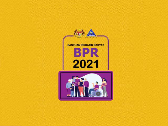 Permohonan Baru & Kemaskini Bantuan Prihatin Rakyat (BPR) 2021 Kini Dibuka