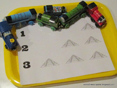 toddler train counting