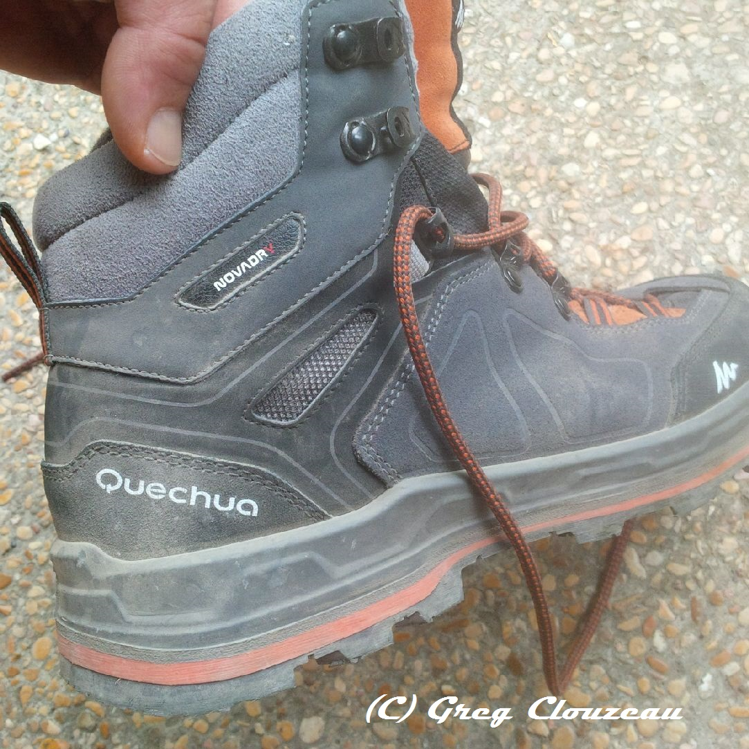 Quechua Forclaz  Men S High Waterproof Hiking Shoes