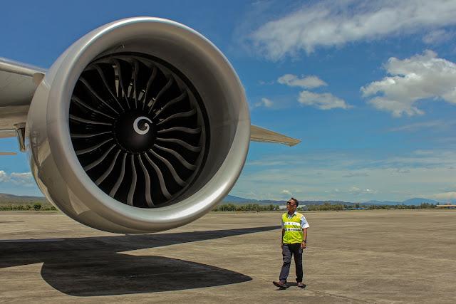 General Electric Engine of Boeing B777-300ER