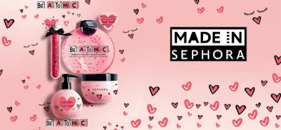 Spread the love this Valentine's Day with Sephora's Be Atomic collection | Monica's beauty in five minutes
