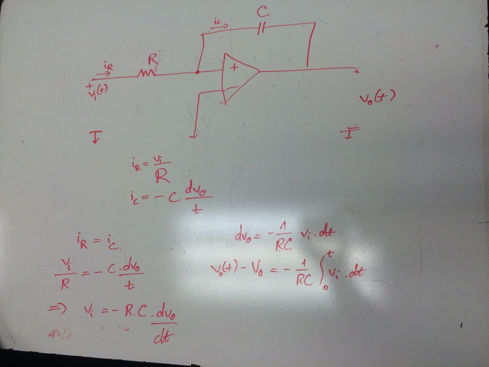 Engineering 44 Mmastro April 26 Inverting Amplifier Op Amp Circuit Integrators Are Made By Replacing The Feedback Resistor With A Capacitor On An Differentiators Putting