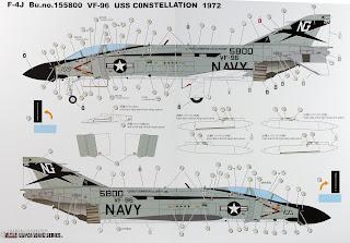 F-4J Phantom II Zoukei Mura Notice 2/3