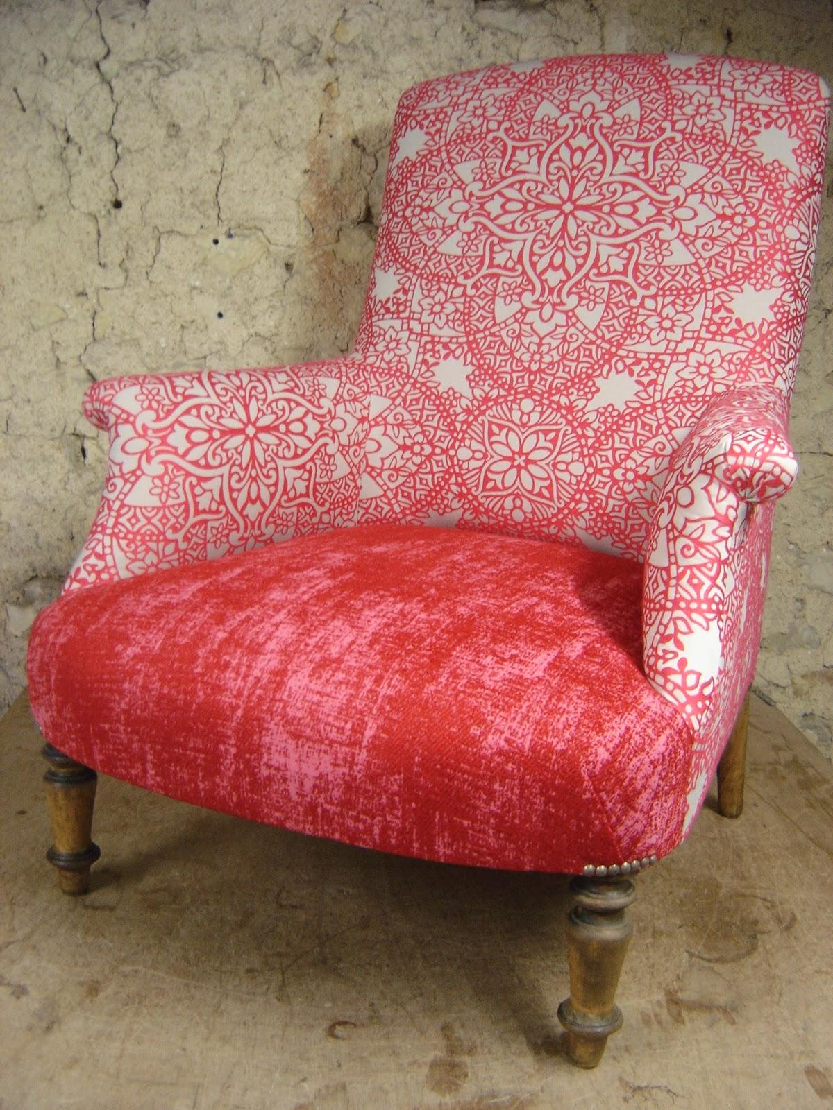 Christine rose artisan tapissier r alisations for Abonnement art et decoration