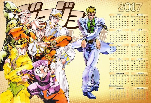 Diamond wa kudakenai calendar 2017