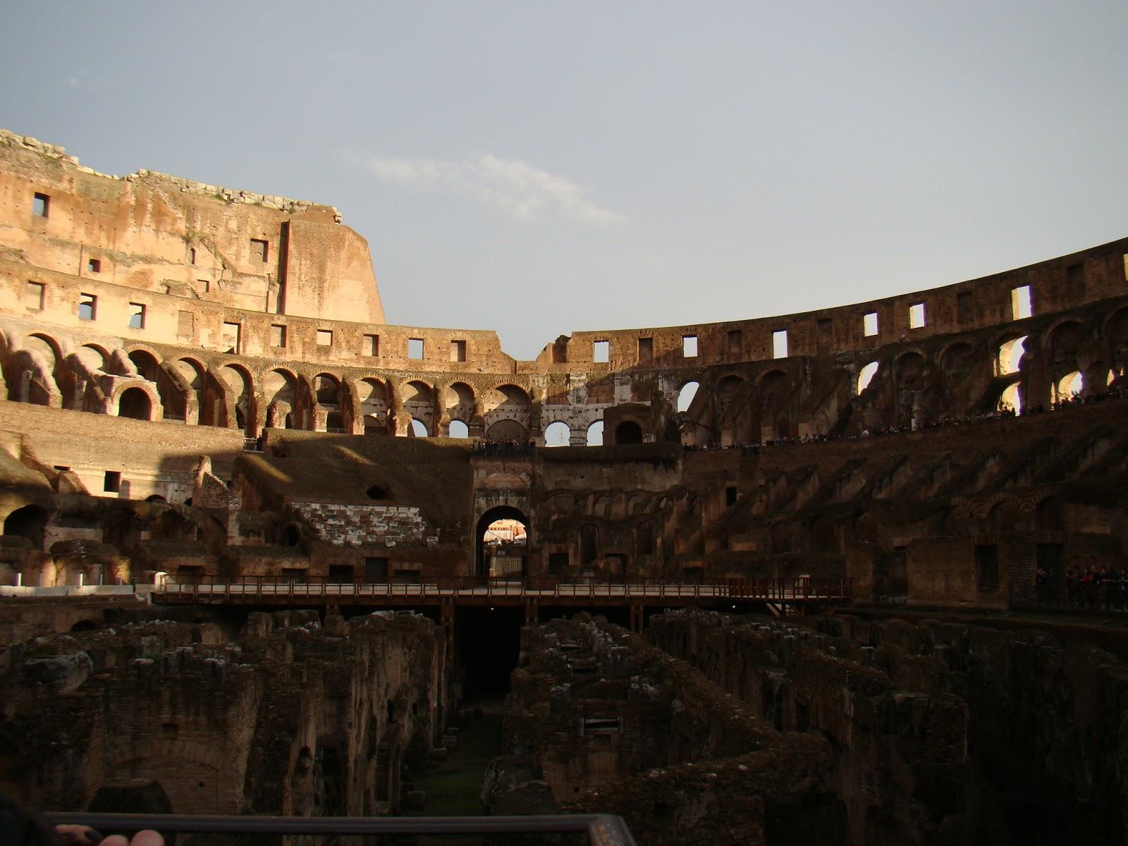 Diário de Viagem: Conhecendo o Coliseu, em Roma