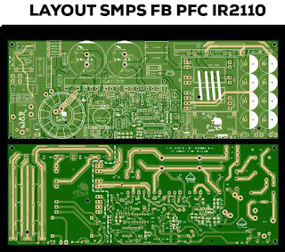 PCB Layout SMPS 2000Watt power supply switching