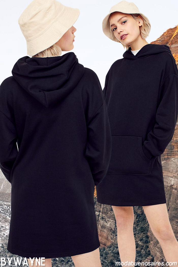 Vestidos urbanos juveniles invierno 2021