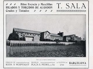 Complejo de la Tecla Sala en 1916
