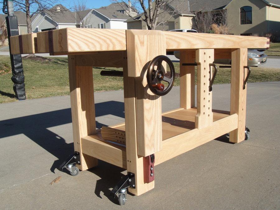Woodwork Bench Design