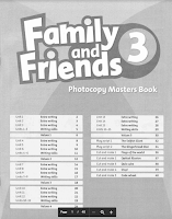 Family and Friends 3 - Photocopy Masters Book