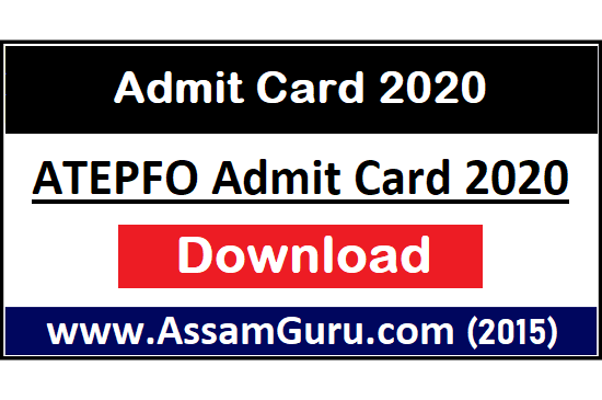 Admit Card For ATEPFO