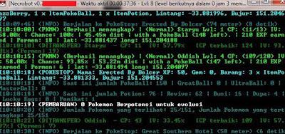 Bot Pokemon GO Terbaru Necrobot