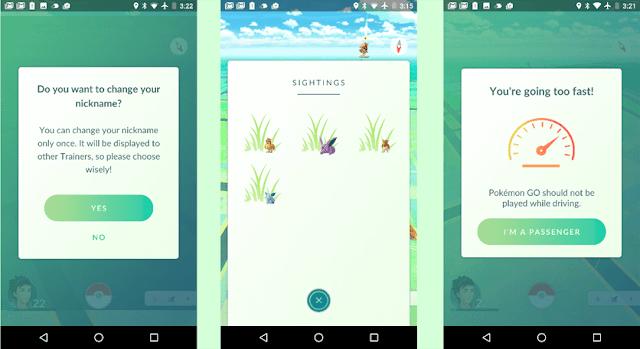 Update Pokémon Go 0.33.0 Apk Terbaru (Fitur Change Nickname)