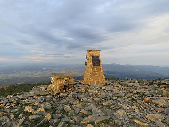 Obelisk poświęcony Janowi Pawłowi II.