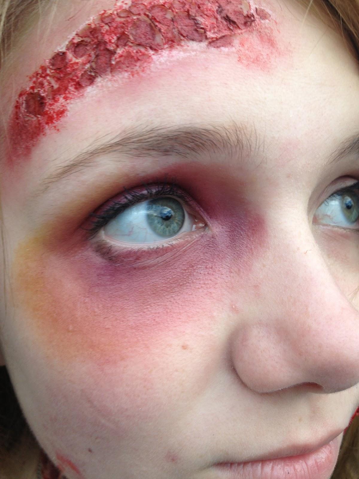 Car Accident Halloween Makeup