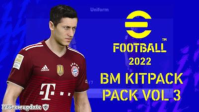 PES 2021 Kitpack Season 2021/2022 by BM (KitServer)