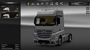 Actros MP4 V2 BigSpace + GigaSpace + Addon + Interior