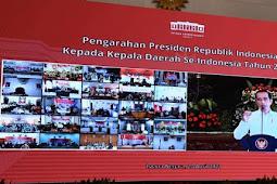 Joko Widodo Minta Semua Pihak Waspadai Peningkatan Covid-19 di Daerah