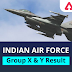 Air Force Group X Y Result Date 2021, Cut off