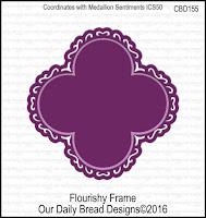 ODBD Custom Flourishy Frame Dies