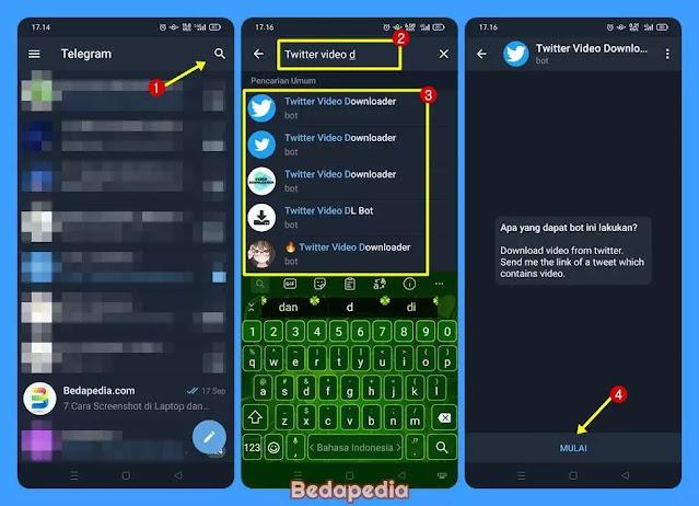 download video twitter di Telegram.1