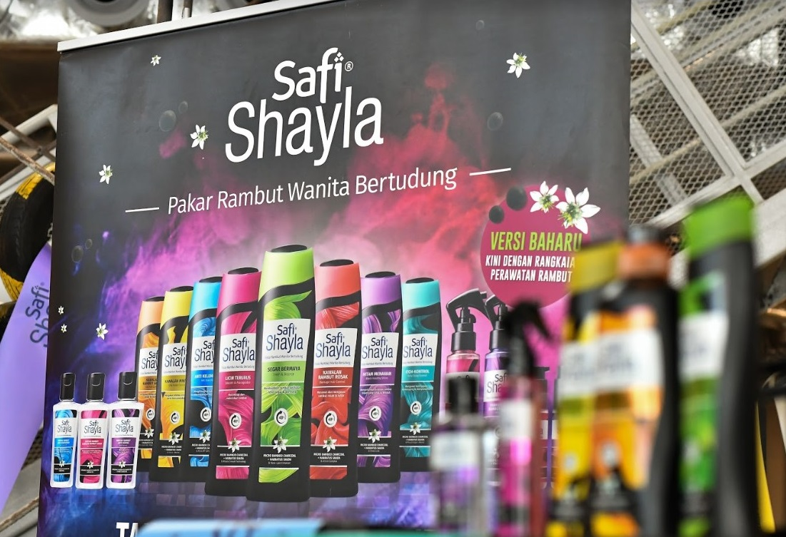 Perasmian Syampu Safi Shayla Baru