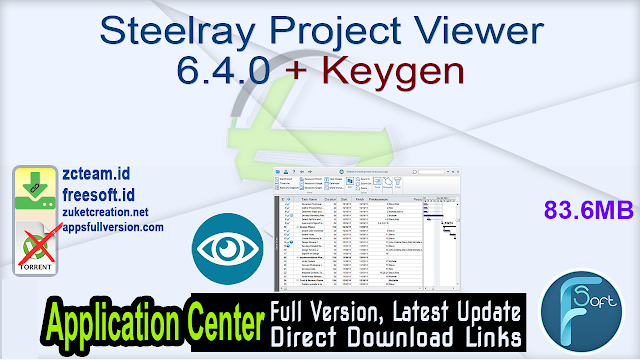 Steelray Project Viewer 6.4.0 + Keygen_ ZcTeam.id
