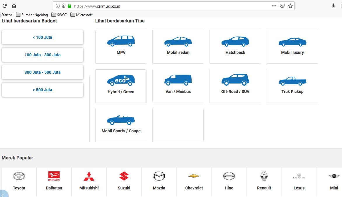 Situs Jual Beli Mobil Bekas dan Baru Terlengkap - Irsyad ...