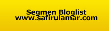 Segmen Bloglist Dan Banner Header SafirulAmar.com