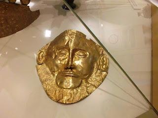 маска Агамемнона Микены