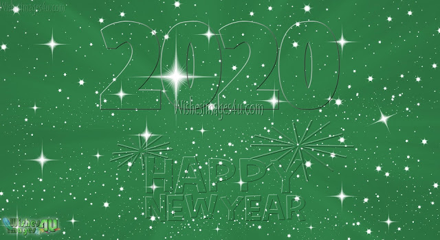 Happy New Year 2020 1080p Sparkling Background Pictures