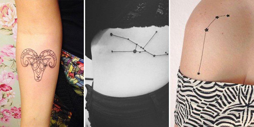 signe astrologique-tatouage féminin-2