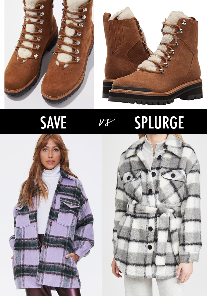 top fall 2020 trends plaid shacket