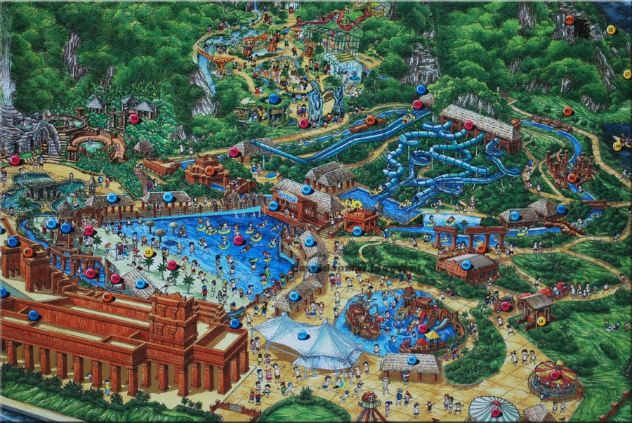 Map to lost world of tambun lost world petting zoo map lostworld1 gumiabroncs Choice Image