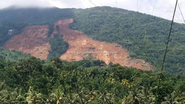 Huge Landslide at Aranayake