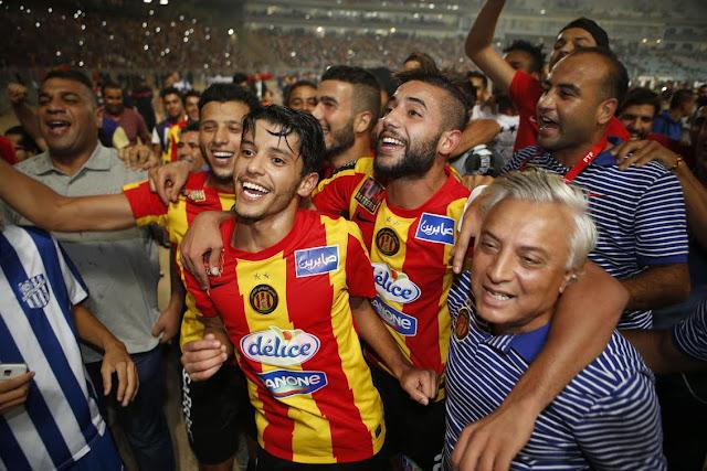 الترجي الرياضي التونسي بطل إفريقيا للمرة الثانية على التوالي و نجمه سعد بقير يغادر إلى السعودية