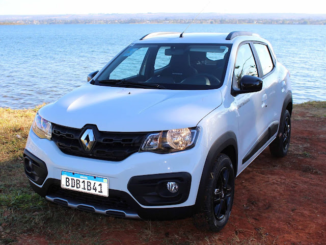 Renault Kwid - quatro carro mais vendido do Brasil em 2019