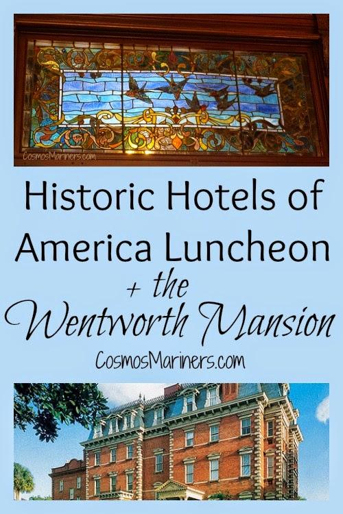 Historic Hotels of America Luncheon, Wentworth Mansion, Charleston | CosmosMariners.com