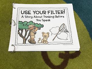 social filter social story