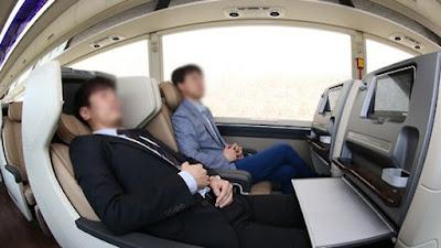 프리미엄 고속버스 좌석
