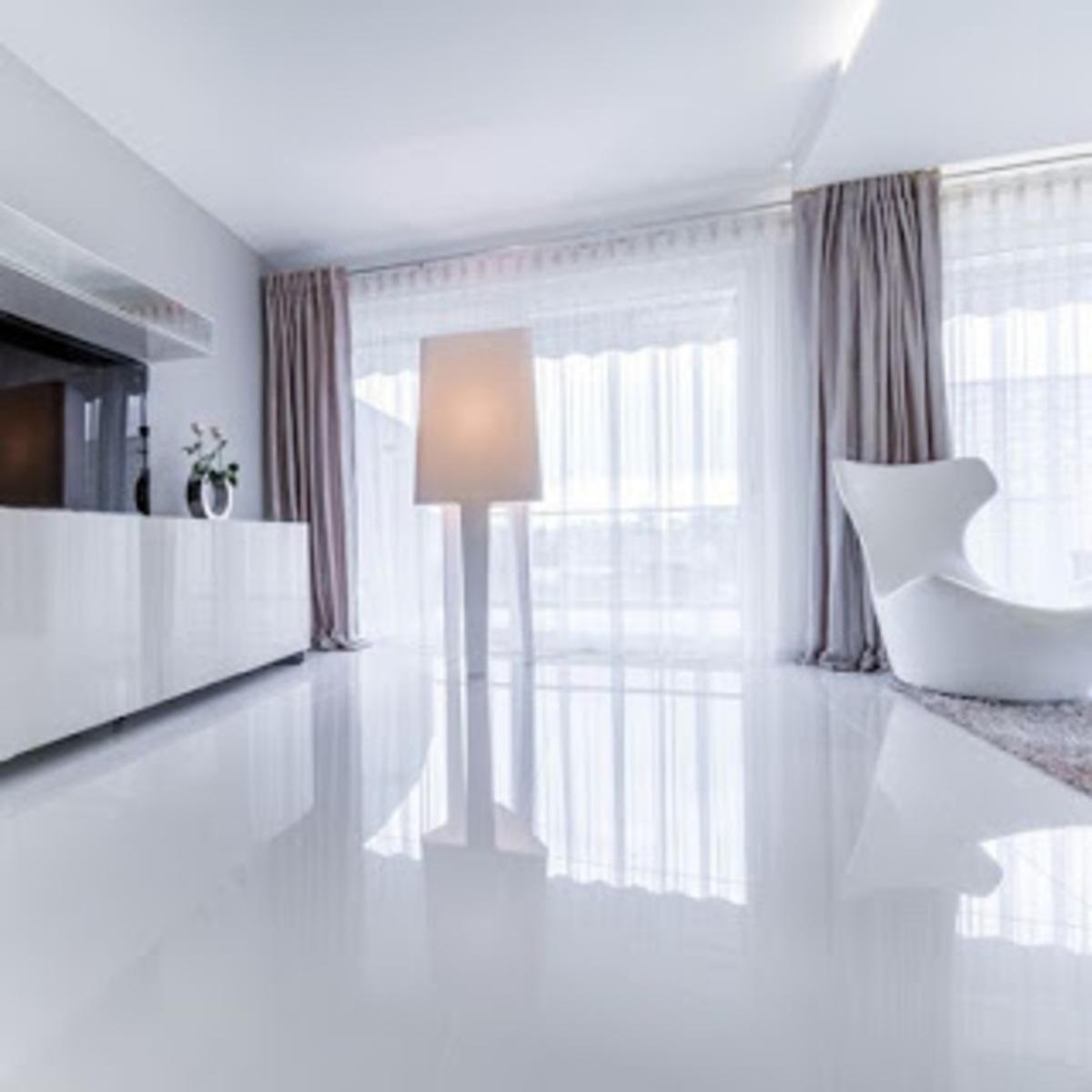 lantai granit ruang tamu